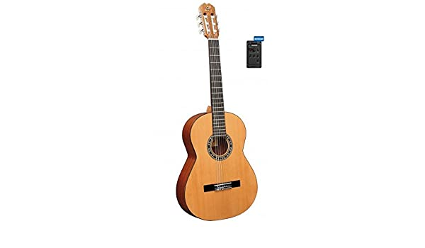 Admira Malaga Electrificada Pre-Amp:Fishman Classic III . Guitarra ...