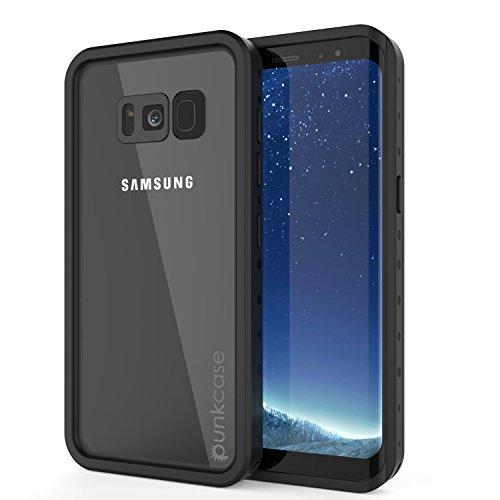 Galaxy S8 Waterproof Case, Punkcase [StudStar Series] [Slim Fit] [IP68 Certified] [Shockproof] [Dirtproof] [Snowproof] Armor Cover for Samsung Galaxy S8 [CLEAR]