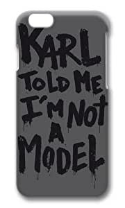 Apple iPhone 4 4s Case,SMMNKOL? Karl told me Hard Case Protective Shell Cell Phone Cover For Apple Iphone 4 4s - PC 3D