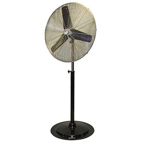 MaxxAir HVPF30 30-Inch OSC Heavy Duty Oscillating Pedestal 3-Speed Fan