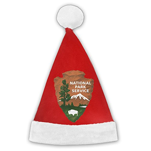 Us National Costume For Kids (Chrihapy Asmlie US National Park Service Santa Hat Plush Christmas Hat Decorations For Kids And Adults Unique Gifts)