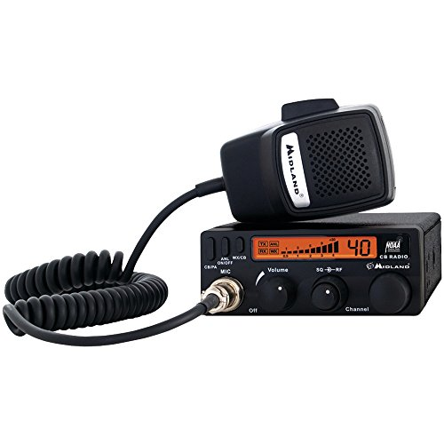 MIDLAND 1001LWX Full-Featured CB Radio with Weather Scan Tec