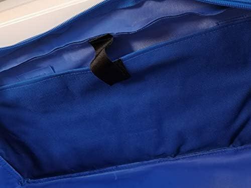 Racing Systems Blue Comfort Extra Stark Nylon Kennzeichentasche Zulassungstasche Nummernschildtasche Schildertasche Auto