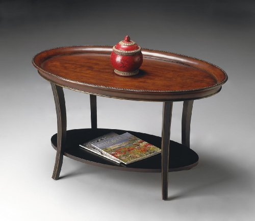 Coffee Specialty Butler - Butler Specialty Oval Cocktail Table - 1591104