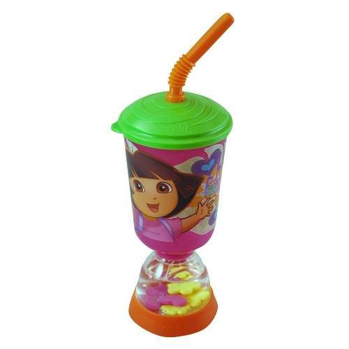 - Dora Fun Float Water Tumbler 9 oz with Straw