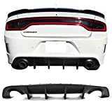 Rear Bumper Diffuser Compatible With 2015-2020