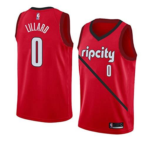D Jerseys Black for Men red