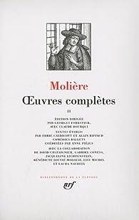 La Pléiade - Oeuvres complètes 02 par  Molière