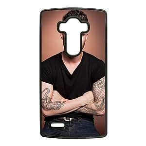 Adam Levine LG G4 Funda Caja del teléfono celular Negro M2Z9VJ Claro Teléfono caja de plástico