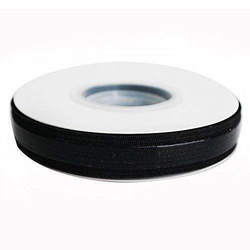 Banda elástica de silicona respaldado Pinza elástica cincha elástico antideslizante cinta–5yards por rollo, 15mm,...