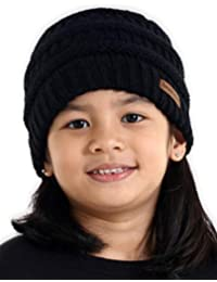 43bc4e8fd37 Kids Cable Knit Beanie - Fits Girls