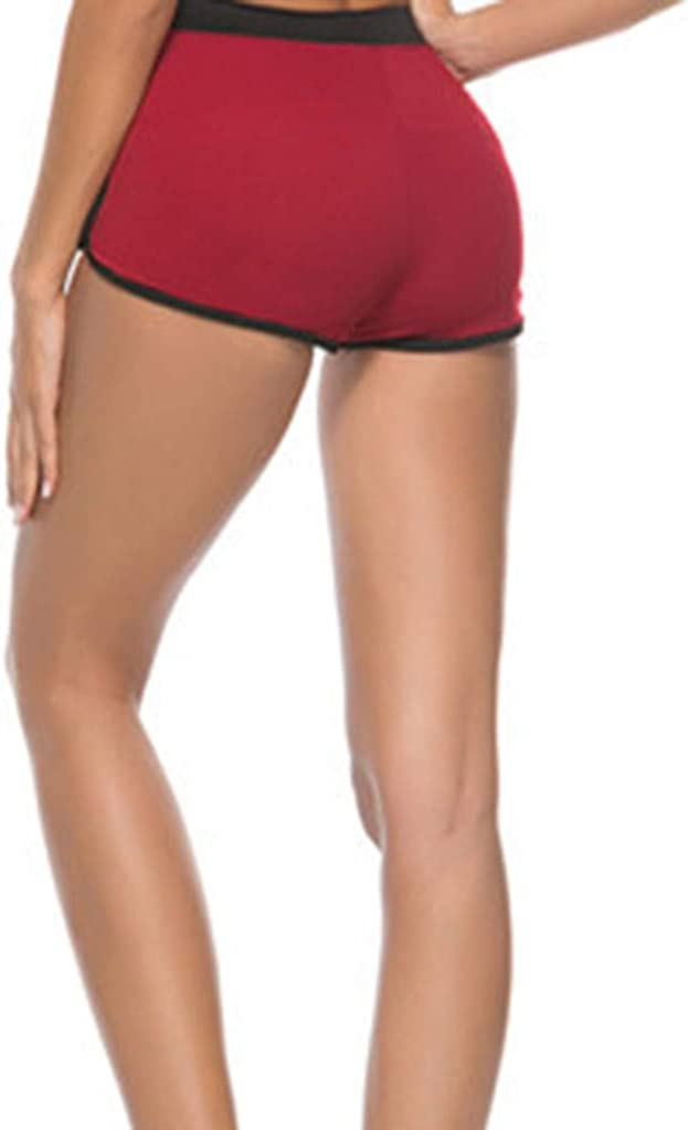 Running Workout Shorts Yoga Sport Fitness Short Pant with Drawstring wodceeke Womens Casual Loose Shorts