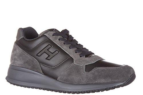 Hogan zapatos zapatillas de deporte hombres en ante nuevo interactive n20 gris