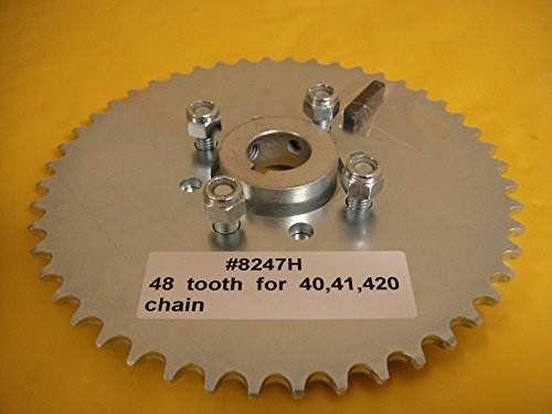 - Go Cart Sprocket and Hub for 1