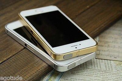 huge discount 35057 320df Dual Tone Aluminium Metal Bumper Cover Case Side Frame for Apple ...