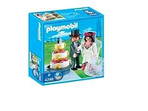 Playmobil 4298 Novios Con Tarta Nupcial