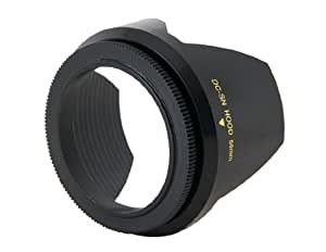 mennon DC-SN 58mm Camera Lens Hood (Black)