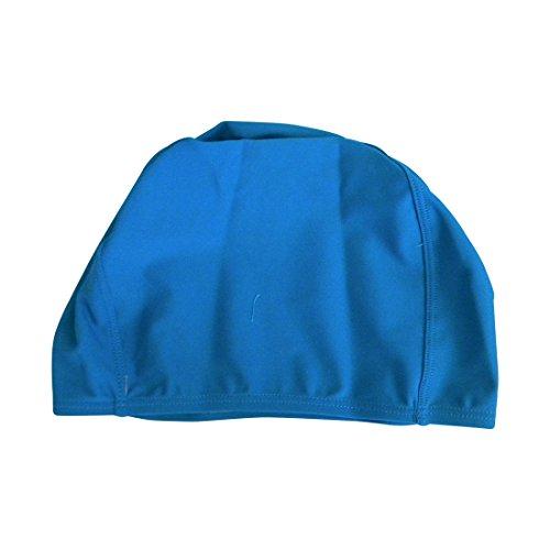 Teal Solid Women Kids Swim Cap Lycra Bathing Cap (DaCee Designs)