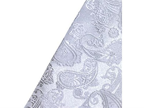 Formal Silver Fashionable Necktie for Comfortable Occasion Casual Jacquard Men's Wedding and Kxrzu Party FBW6F