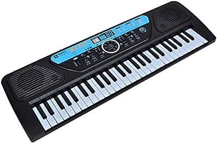 WZB Instrumento multifunción Música para niños Teclado ...