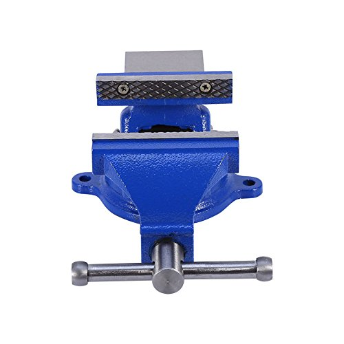 4'' 100mm Heavy Duty Bench Vice Anvil Swivel Locking Base Table Top Clamp Base for home handyman by Heaven Tvcz (Image #8)