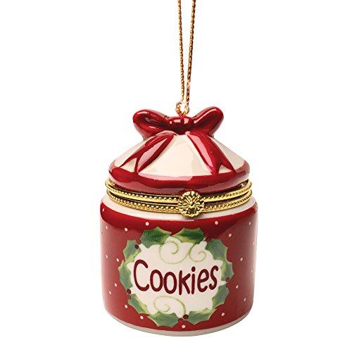 Bandwagon Porcelain Surprise Ornaments Box - Cookie Jar