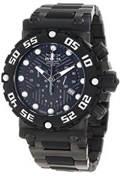 Invicta Men's 10046 Subaqua Nitro Diver Chronograph Black Dial Watch