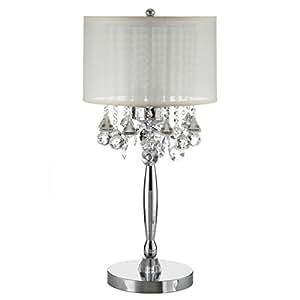 Amazon.com: INSPIRE Q Silver Mist 3-light Crystal Chrome