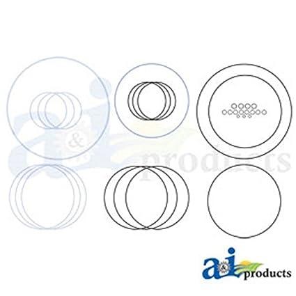 Amazon Com A46286 Seal Kit Clutch Repair Fits Case Ih 10701270