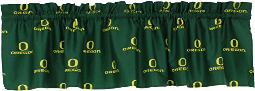College Covers Oregon Ducks Printed Curtain Valance - 84