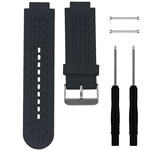 Band for Garmin Approach S2 / S4, Soft Silicone Replacement Watch Band Strap for Garmin Approach S2 / S4 GPS Golf Watch, Fits 5.9-8.26 Wrist