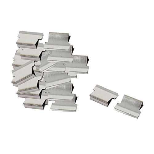 uxcell Office Stationery Clam Clip Dispenser Refill 40 Pieces