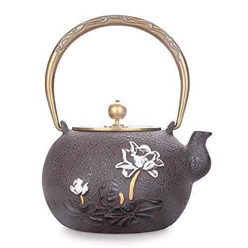 Tetera De Hierro Fundido Hervidores Teteras Retro Iron Teapot ...
