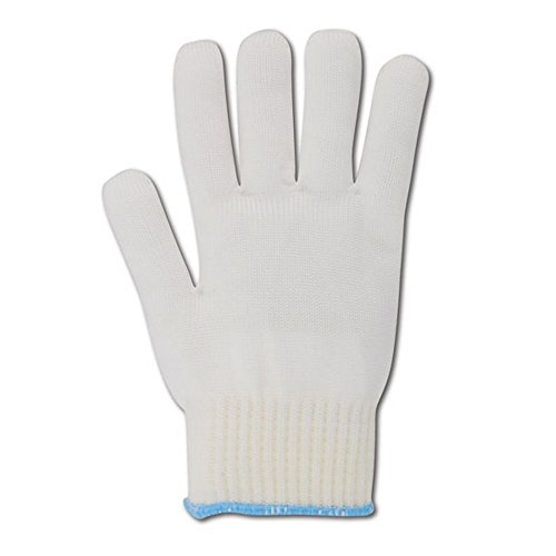 Magid Glove & Safety 5NY-M Magid Knit Master 5NY High Density Heavy Machine Knit Glove with Knit Wrist, White , Medium (Pack of 12) by Magid Glove & Safety (Image #1)