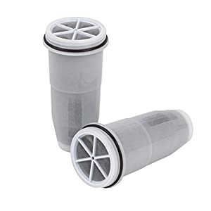 ZeroWater Tumbler/Travel Bottle Portable Replacement Filters 2-Pack BPA-Free