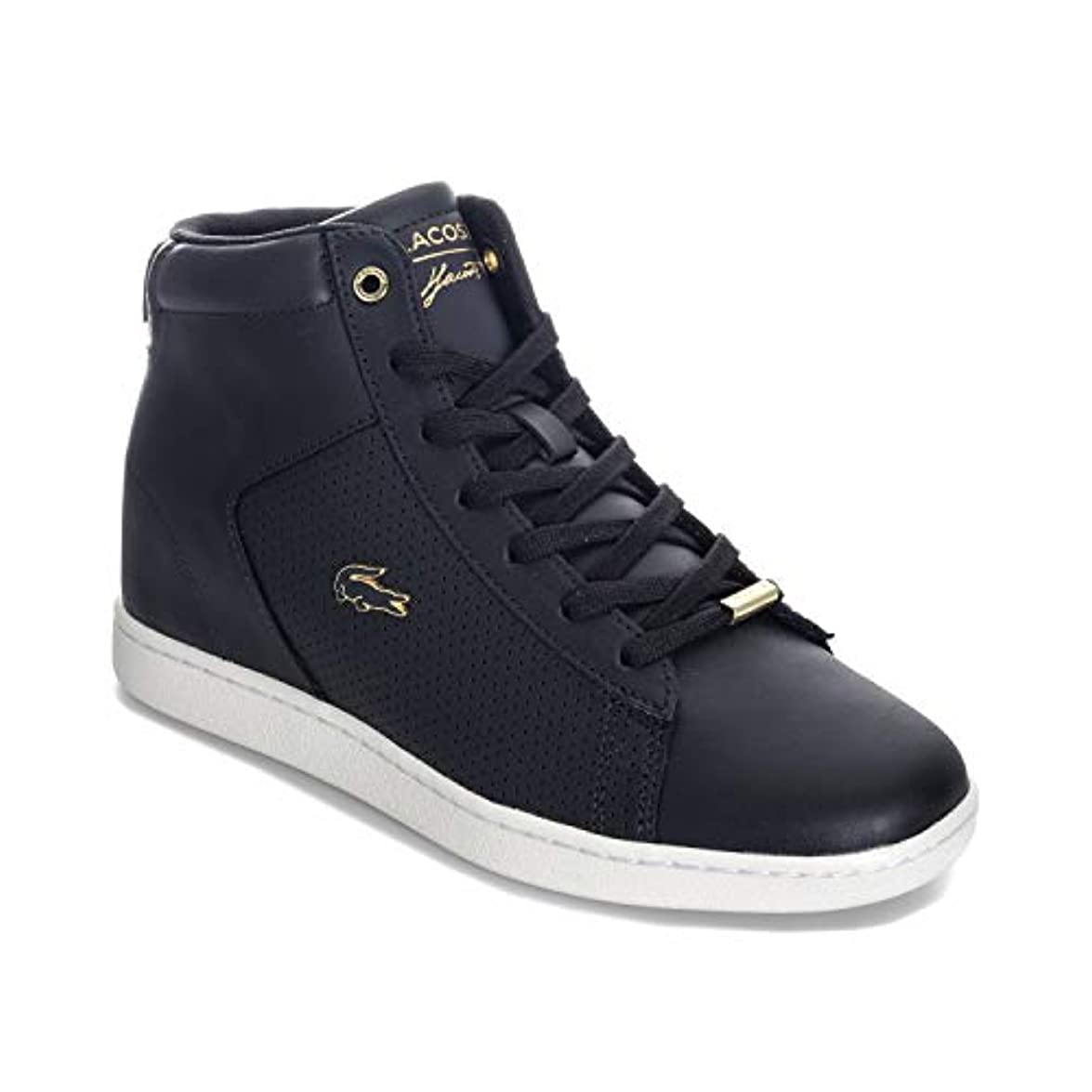 Lacoste Carnaby Evo Wedge Donna Sneaker Nero