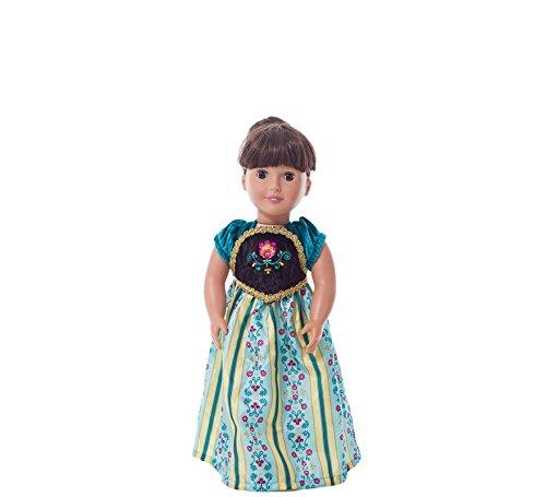 d7b63a725 Amazon.com  Little Adventures Scandinavian Princess Coronation Doll ...