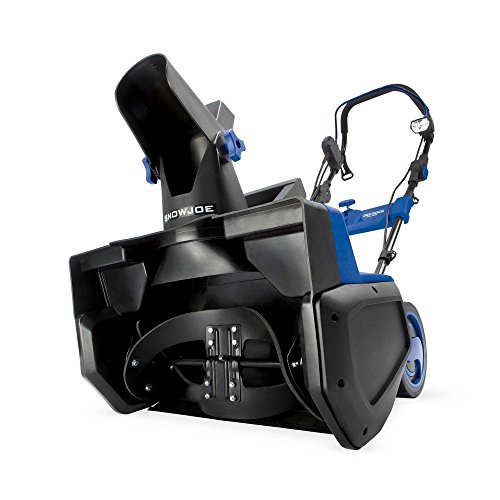 Snow Joe SJ625E Electric Single Stage Snow Thrower | 21-Inch | 15 Amp Motor (Best Single Stage Snow Blower)