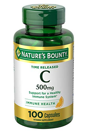 Vitamin C by Nature's Bounty for immune support. Vitamin C is a leading leading vitamin for immune support.* 500mg, 100…