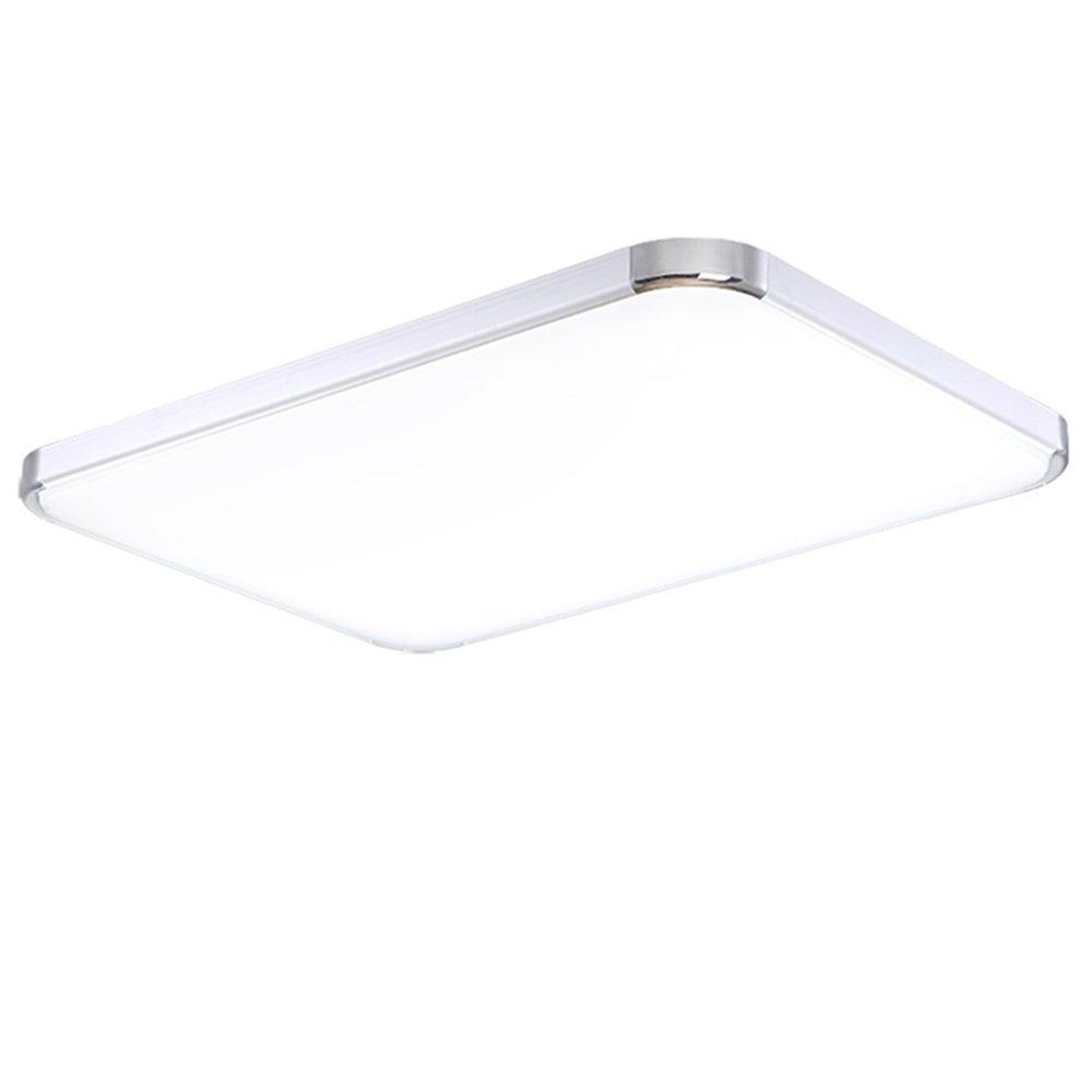 SAILUN 48W Kaltweiß LED Modern Deckenleuchte Deckenlampe Flur Wohnzimmer  Lampe Schlafzimmer Küche Energie Sparen Licht 85V 265V 50HZ (Kaltweiß):  Amazon.de: ...