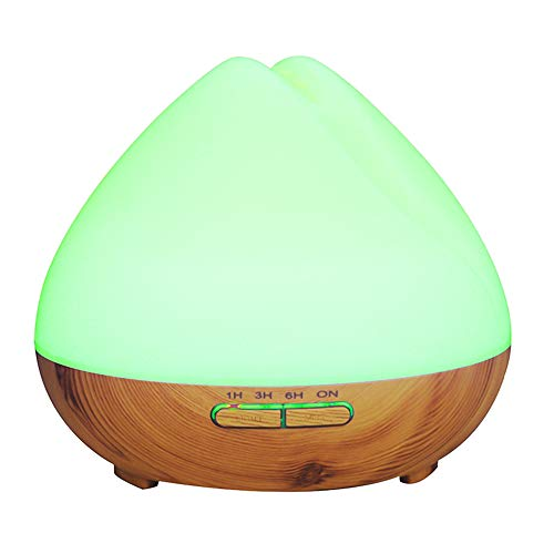 New Popular Essential 7 Color Light Portable Aroma Diffuser 400 Oil Air Purifier