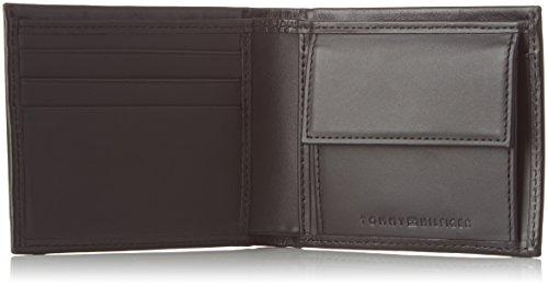 cm Deboss Tommy Cc Hilfiger wxhxd Coin Men's Schwarz With 3x9x11 Pocket Black Hilfiger Mini Purse qBRpwBF