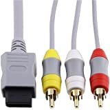 CAVO AV COMPOSITO VIDEO AUDIO 1,8MT RCA PER Nintendo Wii