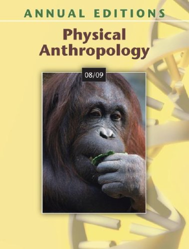 Physical Anthropology 08/09 (Annual Editions)
