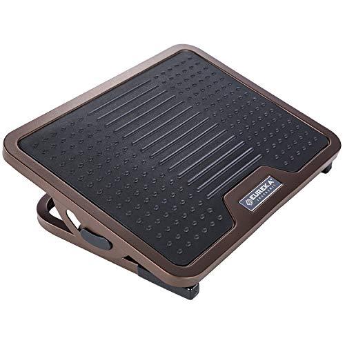 Eureka Ergonomic Adjustable Footrest with Lockable Angles Under Desk - Bronze
