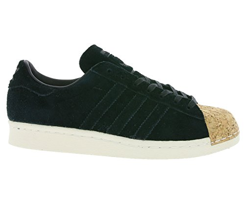 adidas Originals Superstar 80s Cork W, Core Black-Core Black-Off White nero