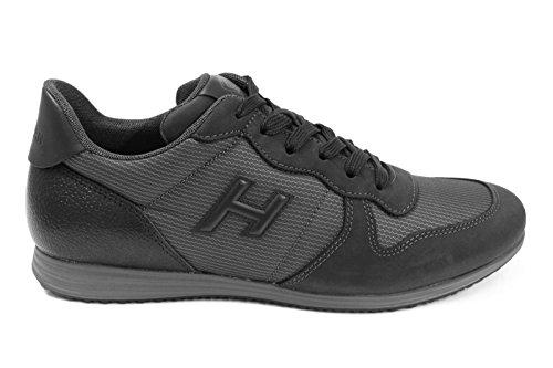 Hogan Hombre HXM2050V550E4L898L Gris Cuero Zapatillas