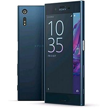 "Sony Xperia XZ F8332 64GB Forest Blue, 5.2"", Dual Sim, GSM Unlocked International Model, No Warranty"