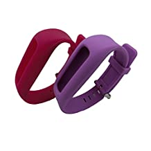 Smarfan Silicon Wristband for Fitbit One /Bracelet Band for Fitbit One Wirelss Activity Plus Sleep /Replacement band for Fitbit One