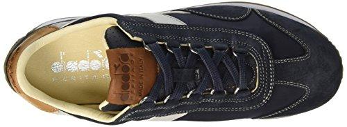 Diadora Equipe Ita, Zapatillas de Gimnasia para Hombre, Blue-Wing-Teal, 42 EU Blu (Blue Wing Teal)